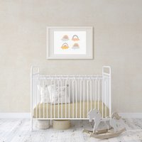 Flannel Fleece Baby Fitted Cot Crib Bed Sheets 2 Pack -  Vanilla  / Junior