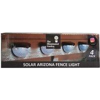 Pack Of Arizona Solar Fence Light - 4