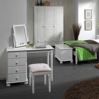 Jonas and James Cecilia Dressing Table Mirror - White
