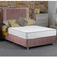 Jonas and James Hadleigh Divan Bed Set With Mattress - Blush / 2 / Single