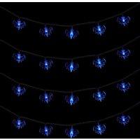 Halloween LED String Lights - Blue