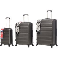 Adelaide Hardshell Suitcase Collection - Charcoal / Cabin