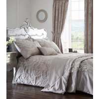 Howard Quilted Throwset - Silver