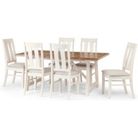 Pembroke Dining Table and 6 Chair Set