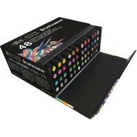Windsor & Newton Brushmarker Box Essentials 48 Piece Set
