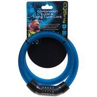 Pursuit Combination Bike Lock  - Blue