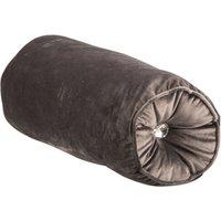 Ariana Gem Bolster Cushion - Charcoal