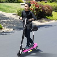'Kids Electric E Scooter Ride On - Pink