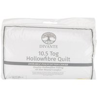 10.5 Tog Duvet - White / King size
