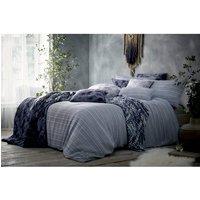 Maya Duvet Cover and Pillowcase Set - Blue / Double