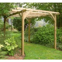 Forest Ultima Pergola Kit  - 3.6 x 3.6m
