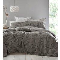 Arboretum Duvet Cover and Pillowcase Set - Pewter / King