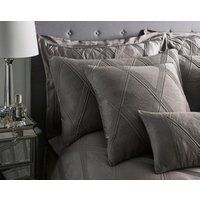 Orlando Square Cushion - Charcoal Grey