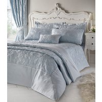 Armitage Quilted Throw Set  - Sky Blue