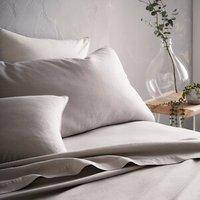 Portfolio Home Aspect Flat Sheet - Silver / Superking