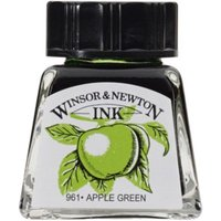 Winsor and Newton 14ml Drawing Ink - Apple Green