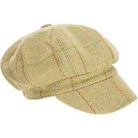 Tweed Bakerboy Cap - Yellow
