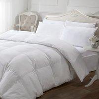 5* 13.5 tog Luxury Like Down Duvet - White / King size
