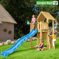 Jungle Gym Cubby With Installation - Brown