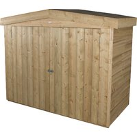 4.9 x 6.5ft Forest Apex Outdoor Store