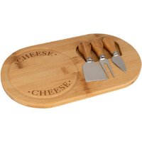 'Bamboo Cheese Cutting Board