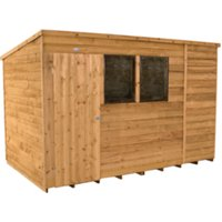 Overlap Dip Treated Pent Shed 10 x 6