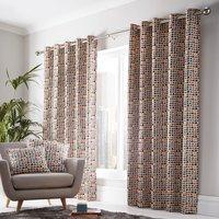 Chicago Eyelet Curtains - Multi / 117cm / 137cm