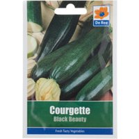 'Courgette Black Beauty Seed Packet