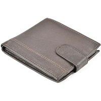 'Men's Brown Leather Wallet