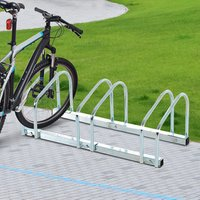 Bike Parking Rack - Silver / 70.5cm