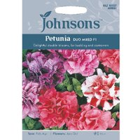 Pack of Duo Mixed F1 Petunia Flower Seeds