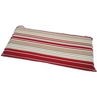 Striped Valance Cushion - 2 Seater Bench