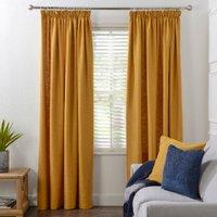 Chiltern Tape Curtains - Ochre / 168cm / 229cm