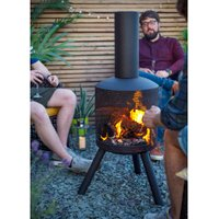 La Hacienda Perforated Steel Chimenea