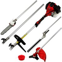 T Mech 5 in 1 Garden Cutter Multi Tool - Red
