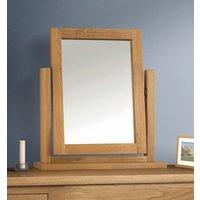 Marlborough Dressing Table Mirror - Oak