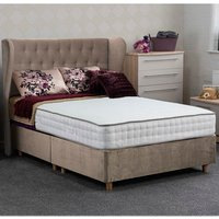 Jonas and James Dartmoor Divan Bed Set - Plush Stone / Single / 2 / 1200mm