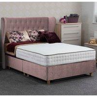 Jonas and James Dartmoor Divan Bed Set - Plush Blush / 1200mm / Single / 4