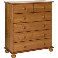 Jonas and James Cecilia Six Drawer Chest  - Pine