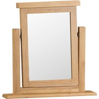 Bisbrooke Country Trinket Mirror - Medium Oak