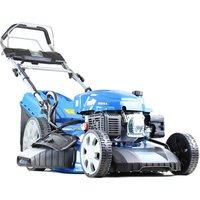 "Hyundai 21"" Self Propelled Electric Push Button Start Petrol Lawn Mower"