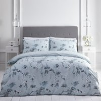 Oriental Wisteria 200 Thread Count Duvet Cover and Pillowcase Set - Super King