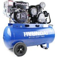 Hyundai 212cc / 7.0HP Petrol Air Compressor - Light Blue