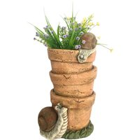 Planter with Snails