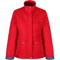 Regatta Womens Camryn Quilted Jacket - Lollipop / 18
