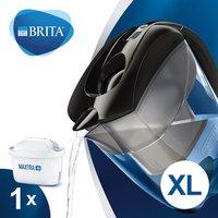 BRITA M+ Elemaris XL Water Filter Jug - Black