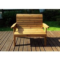 Charles Taylor Two Seater Bench Gold - Redwood
