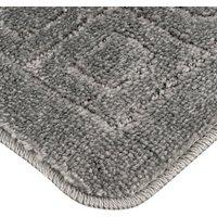 Bath Mat Set - Dark Grey