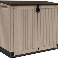 Keter Store-It Out Midi Outdoor Plastic Garden Storage Shed - Brown