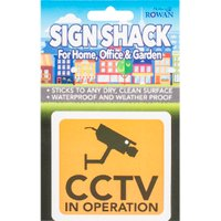 'Sign Shack Cctv In Operation